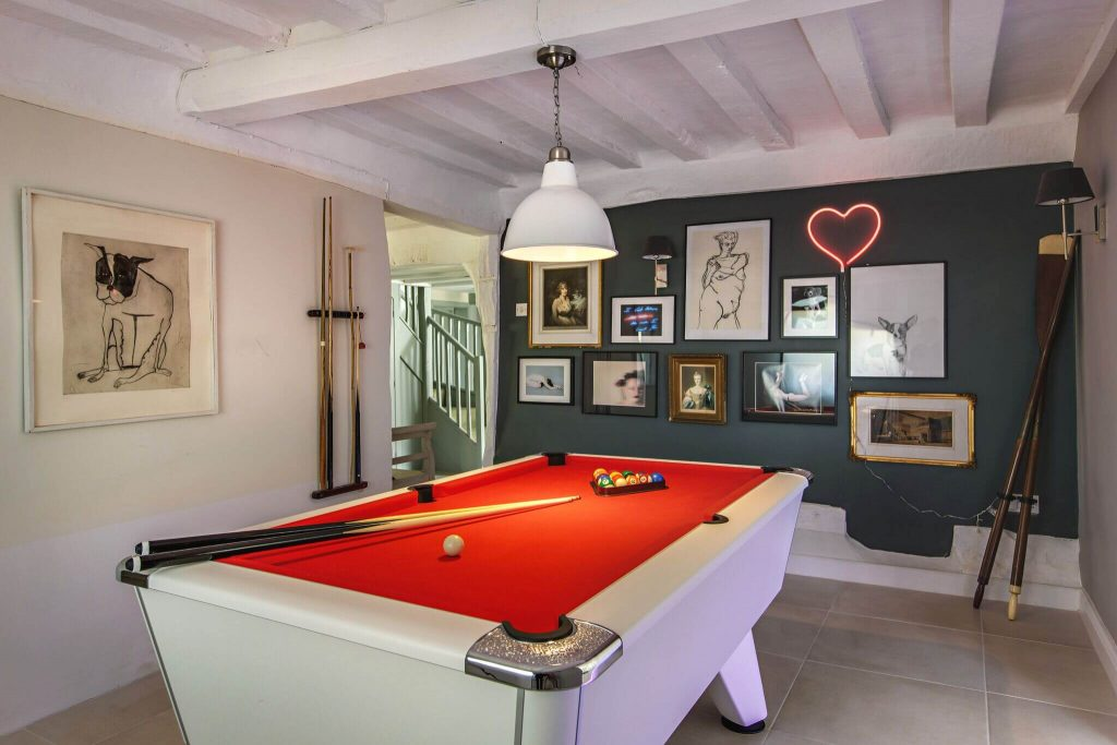 Enjoy the games room with work colleagues