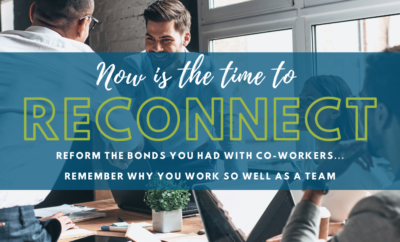 Increase employee motivation by reconnecting with your team