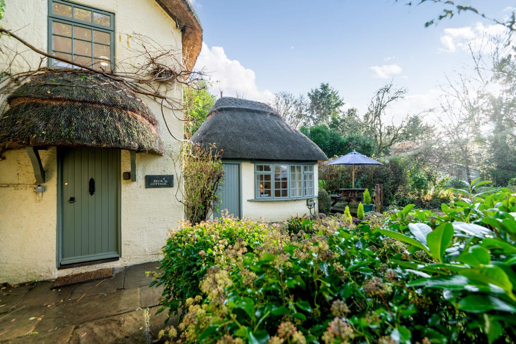 Beck Cottage Front Door access