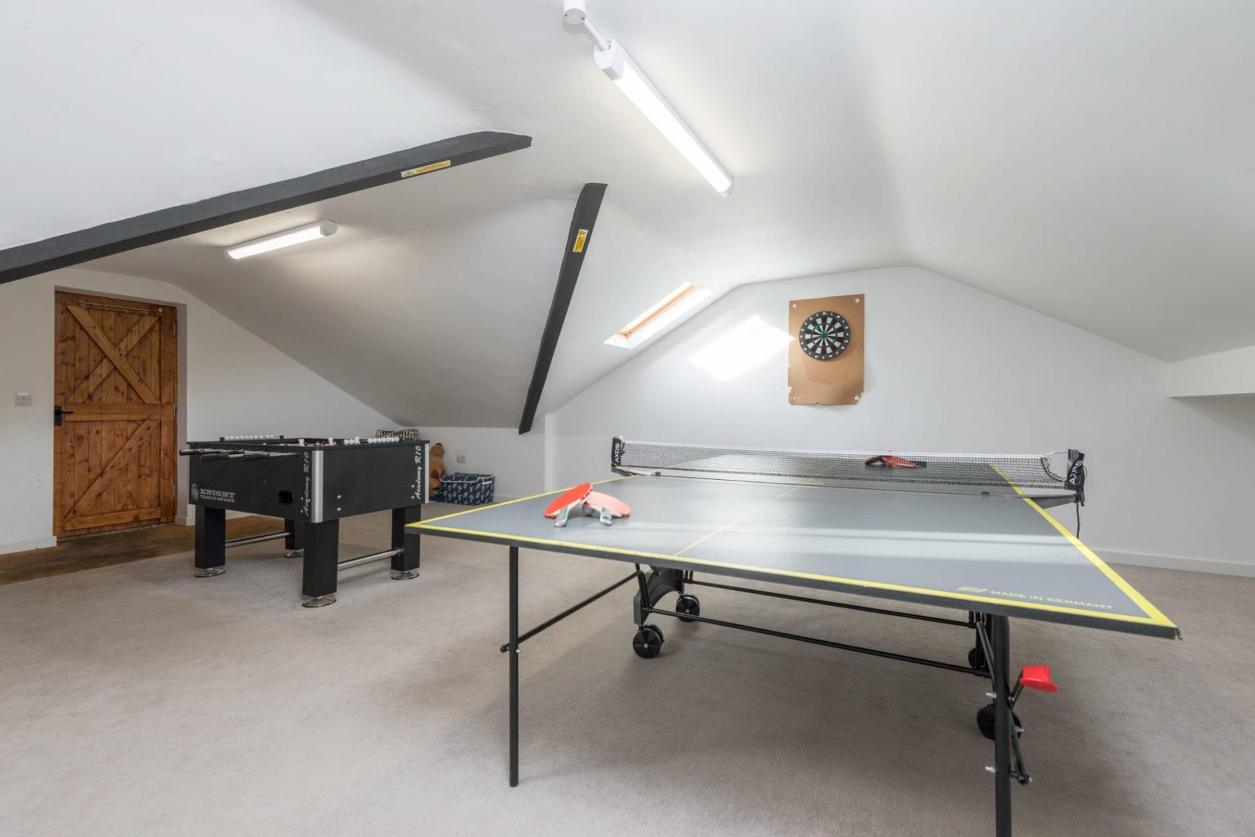 Beck Cottage, Games Room