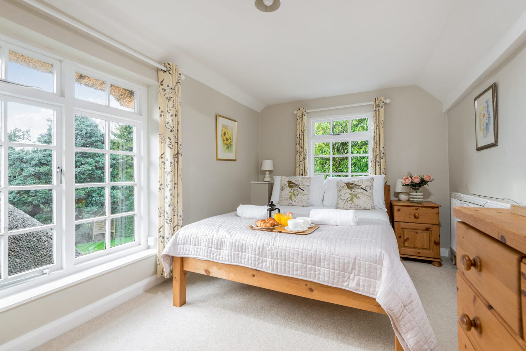 Beck Cottage, Double Room with garden views
