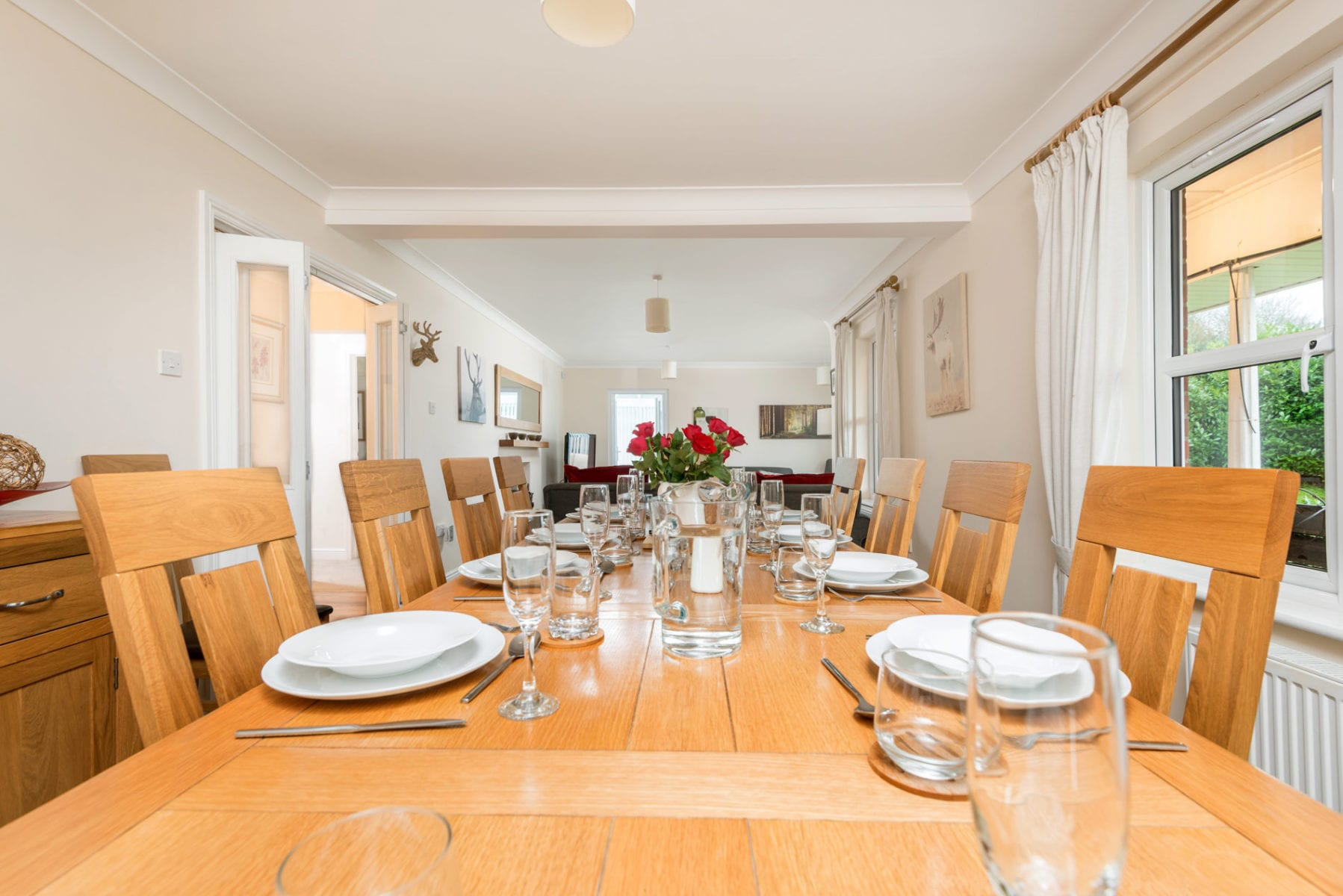 Mews Hill Cottage, dining room