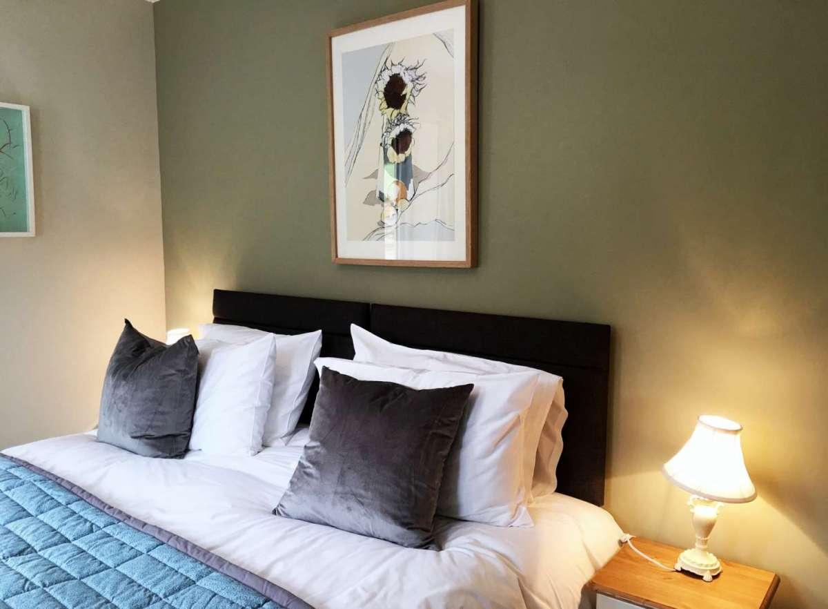 Blackdown Views, double bedroom