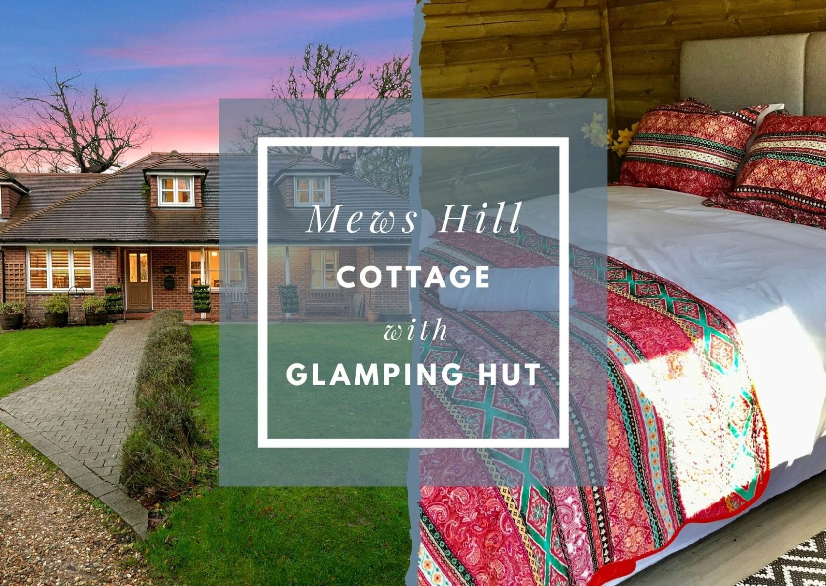 Mews Hill with Glamping Hut cover