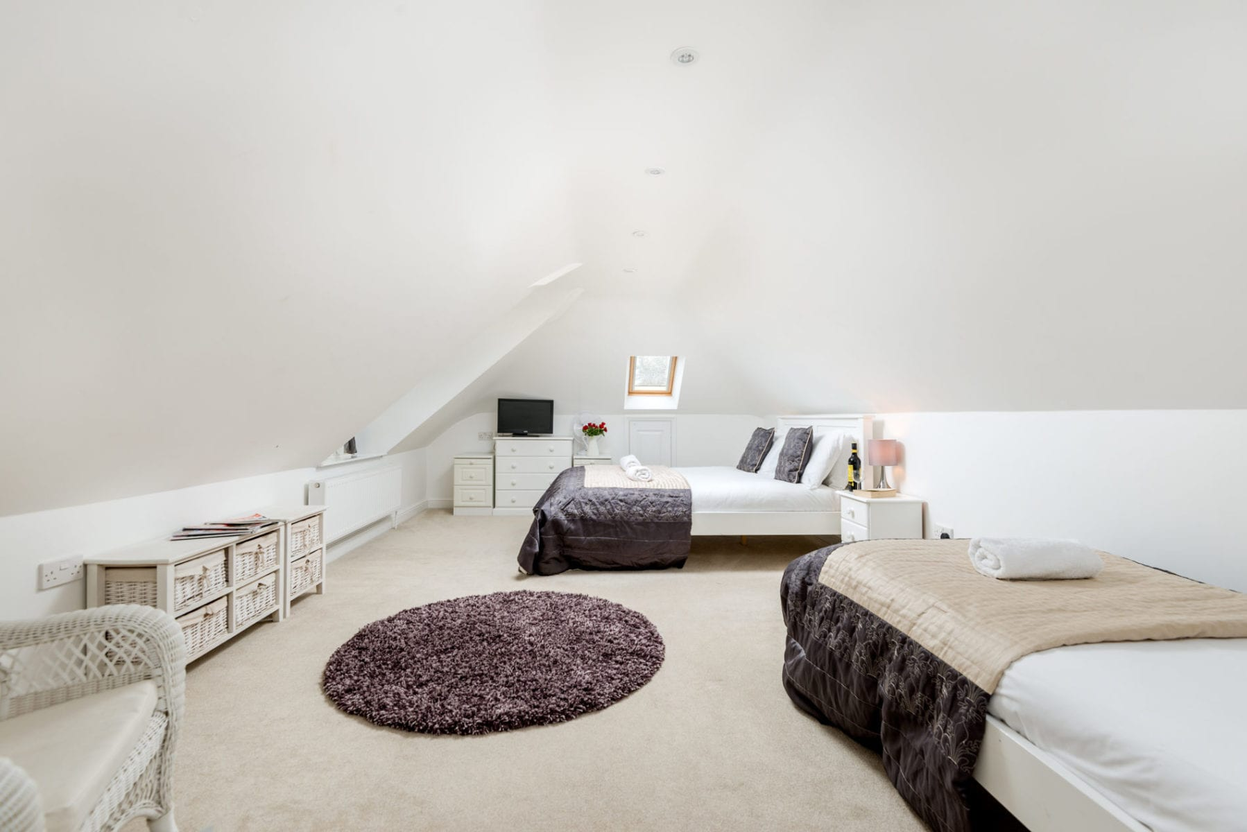Mews Hill Cottage, family bedroom