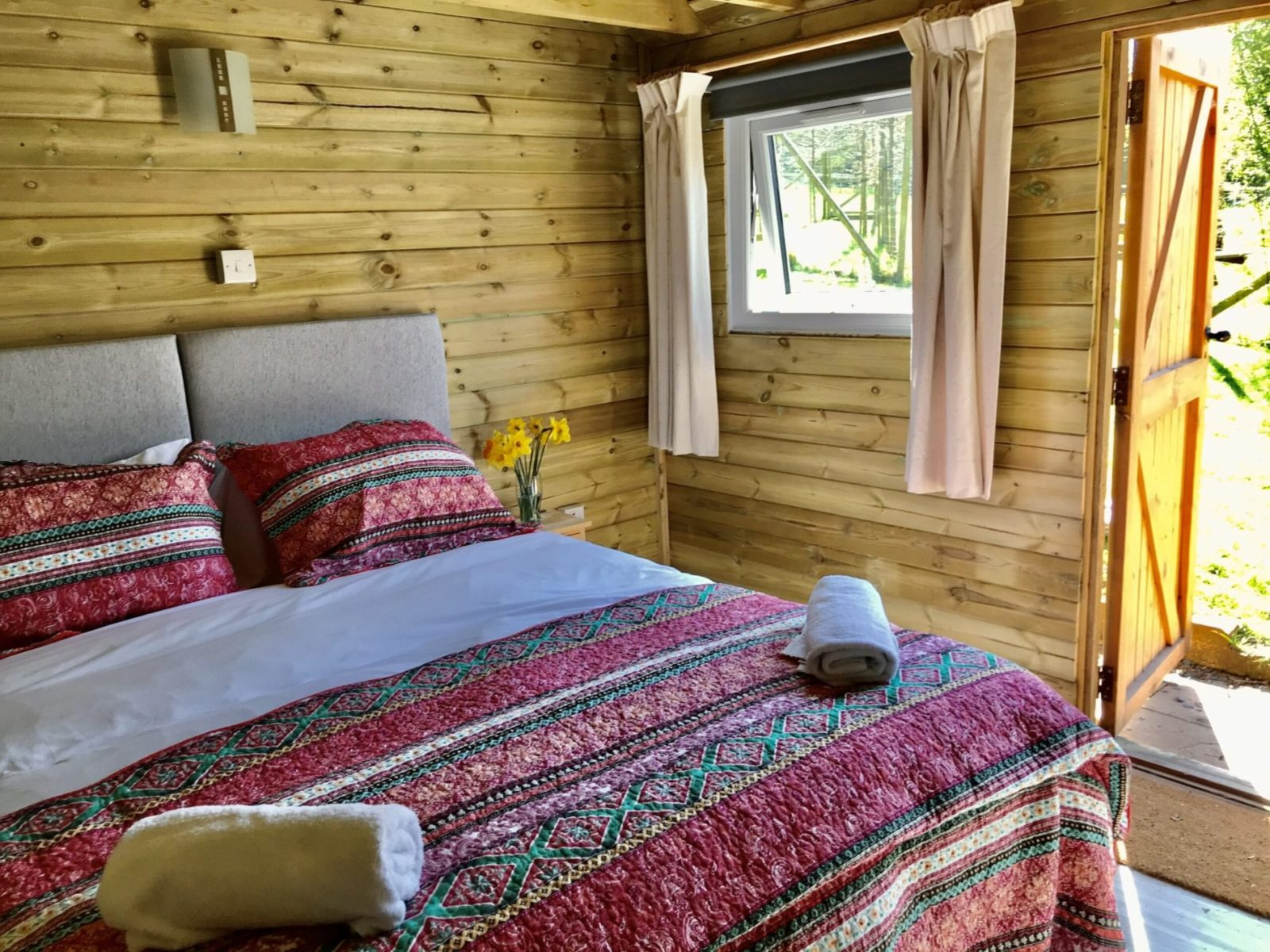 Mews Hill Cottage, Glamping Hut interior